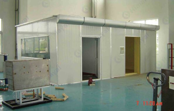 faraday cage shielding room