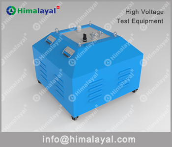 Frequency resonant test system exciter transformer