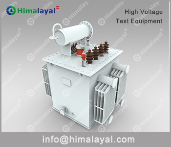 HV On-site test system