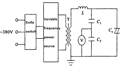 Wiring of serial resonance