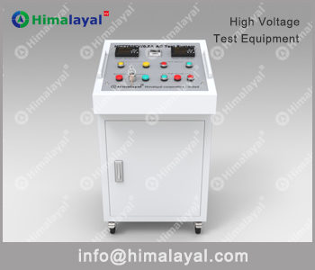 ac dielectric test system control system