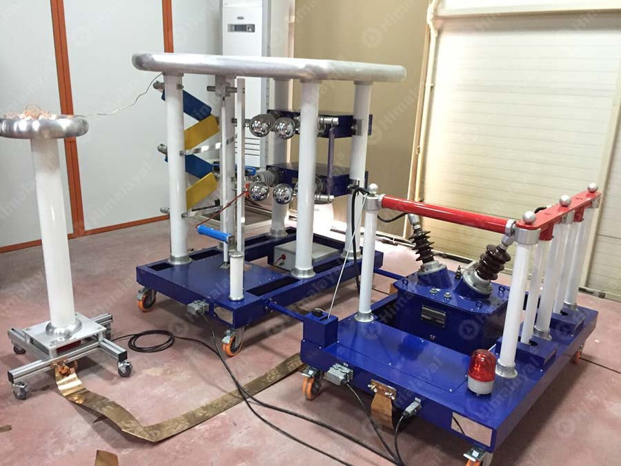 200kv impulse voltage test system
