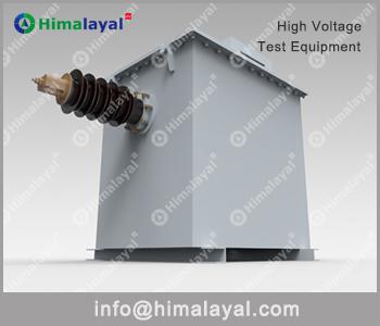 charging transformer for impulse testing