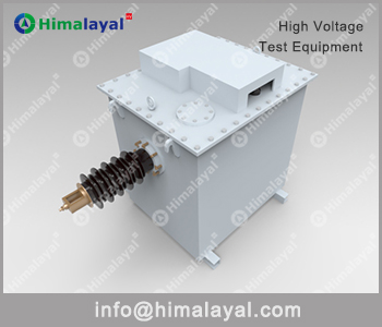 charging transformer for impulse testing