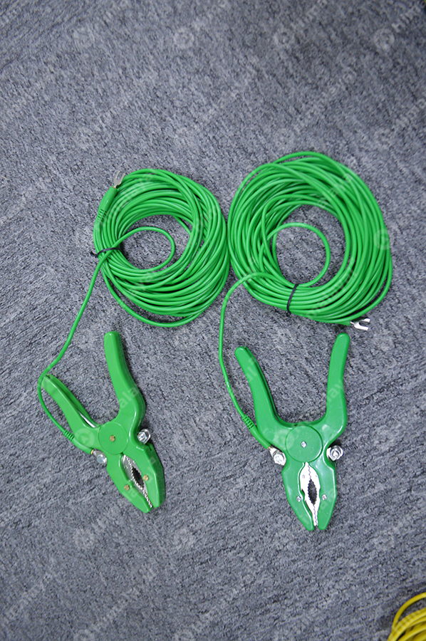 Testing cable green