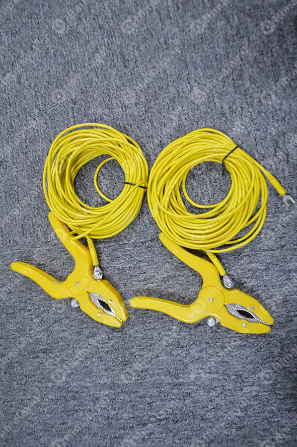 Testing cable yellow