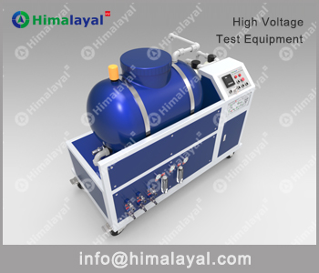 Cable test terminations water processing unit