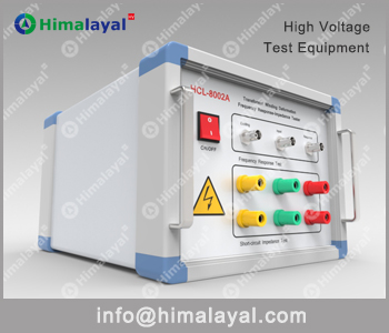 HCL-8002A Transformer Winding Deformation Tester (Frequency Response - Short-circuit Impedance)
