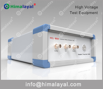 HCL 800A Transformer Winding Deformation Tester