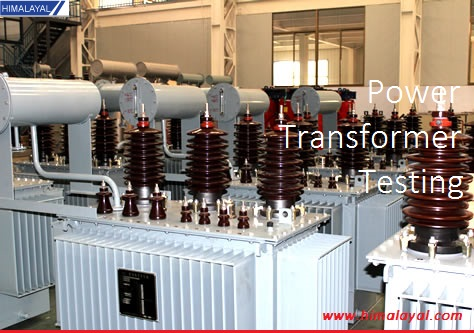Power transformer high voltage testing